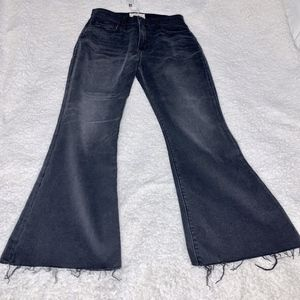 Current/Elliot High-Waist Wide-Leg Jean-Size M